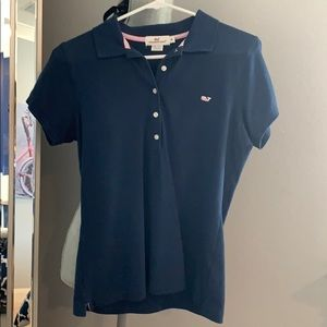 Brand new Navy Vineyard Vines polo